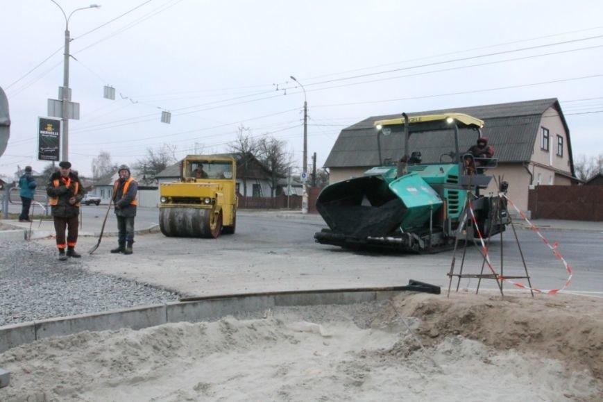 В Чернигове принялись доделывать дорогу возле «ВЕНЫ», фото-8