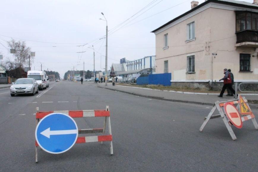 В Чернигове принялись доделывать дорогу возле «ВЕНЫ», фото-16