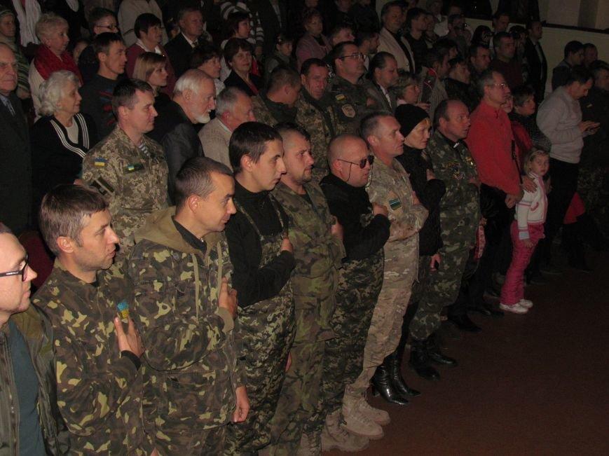 В Мариуполе «Музичний листопад» прошел без Людмилы Янукович, но с украинскими военными (ФОТО), фото-2