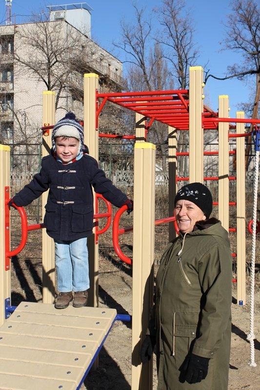 Школьникам Краснодона подарили спортплощадку (ФОТО), фото-1
