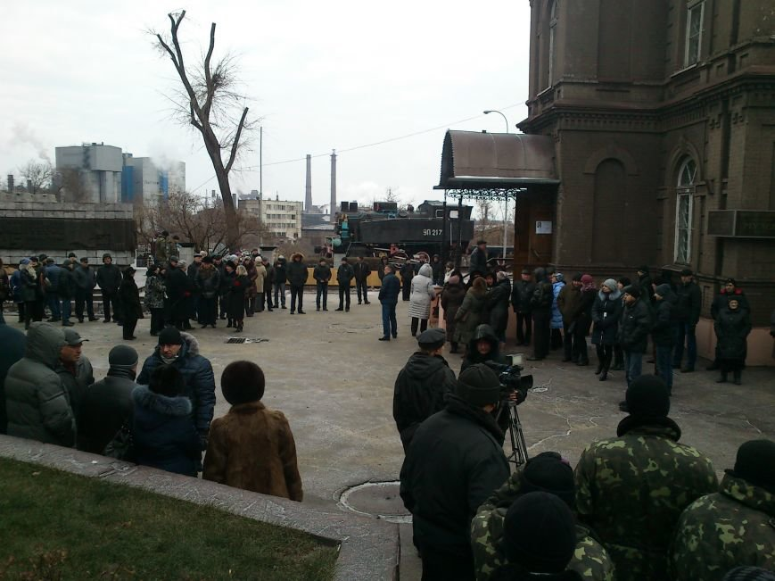 Днепродзержинск простился с погибшим в зоне АТО Сергеем Бородаем, фото-3