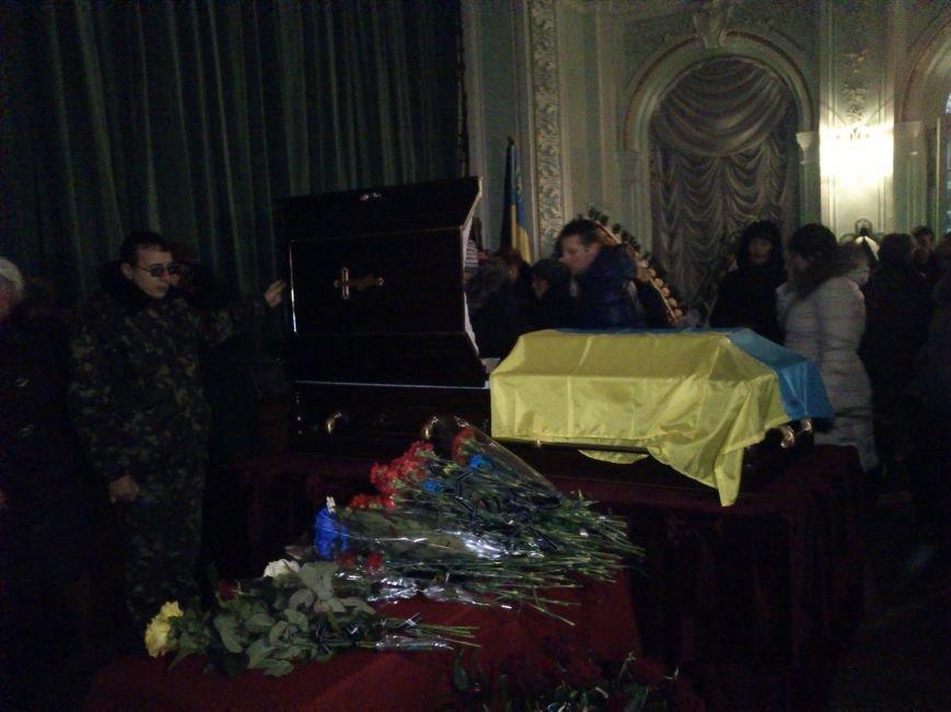 Днепродзержинск простился с погибшим в зоне АТО Сергеем Бородаем, фото-2
