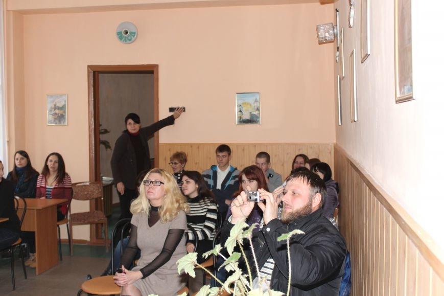 Неделя православного кино в юношеском отделе Центральной городской библиотеки Днепродзержинска, фото-3