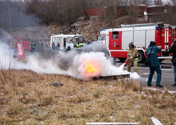 В пожарном биатлоне петрозаводские брандмейстеры лучшие, фото-4