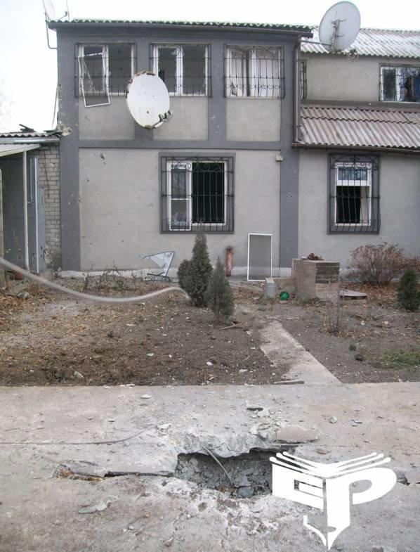 Обстрелян район Горного техникума, фото-2