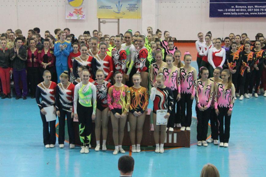 Спортсменки из Красноармейска завоевали 35 золотых медалей на Кубке Украины по аэробной гимнастике, фото-9