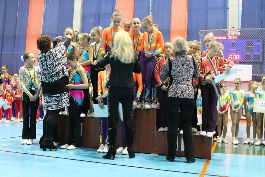 Спортсменки из Красноармейска завоевали 35 золотых медалей на Кубке Украины по аэробной гимнастике, фото-7
