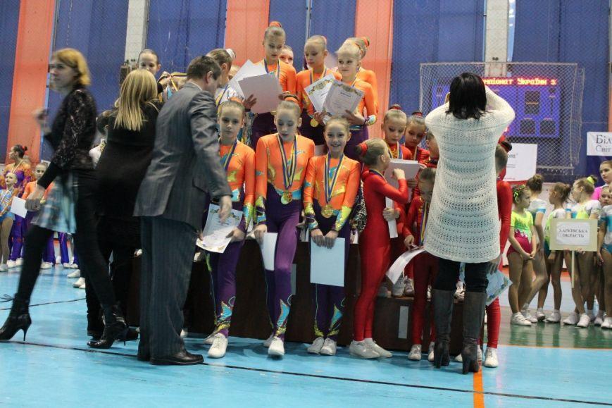 Спортсменки из Красноармейска завоевали 35 золотых медалей на Кубке Украины по аэробной гимнастике, фото-5