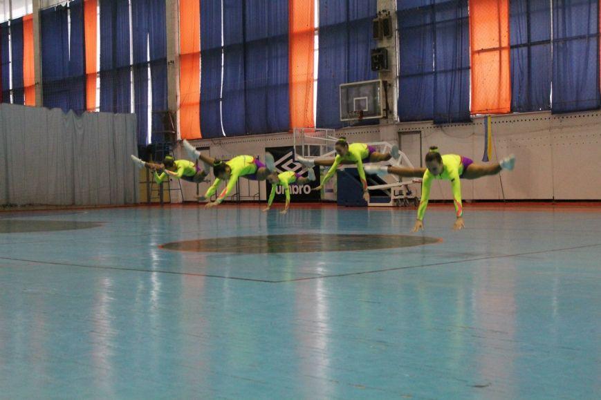 Спортсменки из Красноармейска завоевали 35 золотых медалей на Кубке Украины по аэробной гимнастике, фото-8
