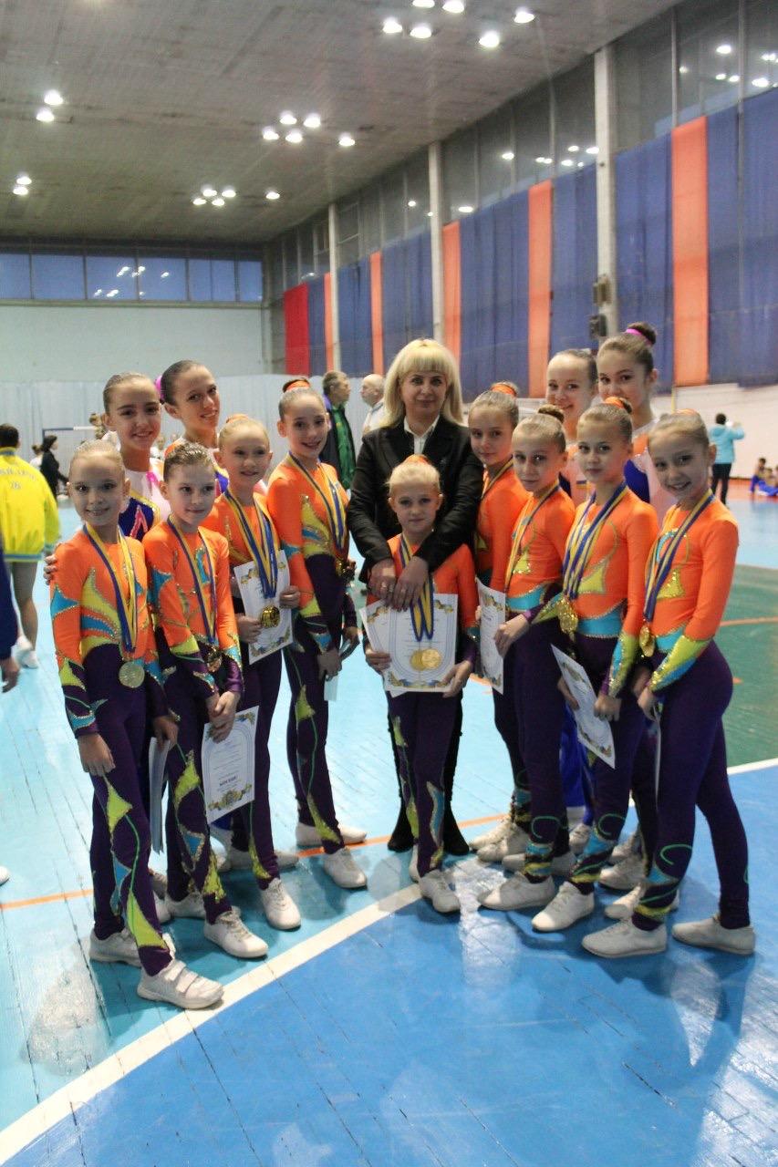 Спортсменки из Красноармейска завоевали 35 золотых медалей на Кубке Украины по аэробной гимнастике, фото-4