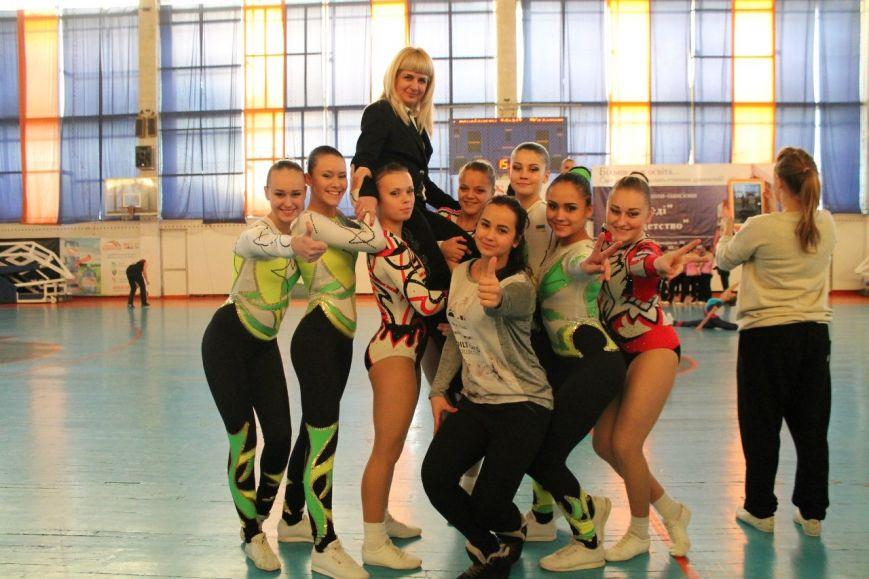 Спортсменки из Красноармейска завоевали 35 золотых медалей на Кубке Украины по аэробной гимнастике, фото-2
