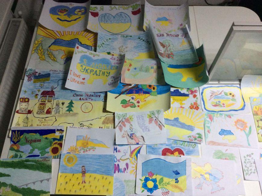 Юні тернополяни висловили любов до України на конкурсі дитячого малюнку від ПриватБанку (фото) - фото 1