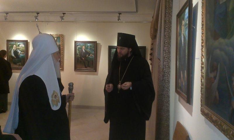 Патріарх Філарет завітав до Полтави (ФОТО) (фото) - фото 1