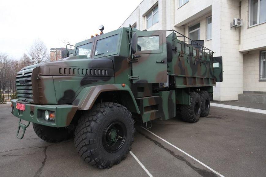 бронеавтомобиль КрАЗ