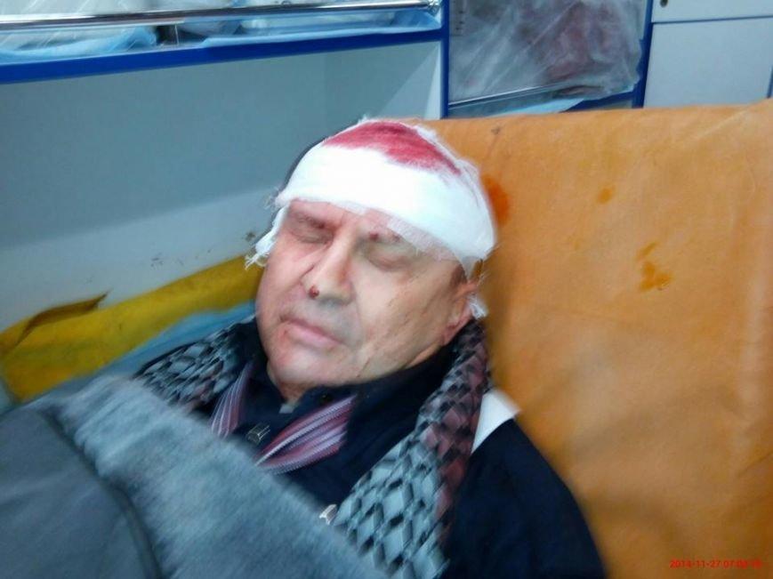 На криворожского активиста Анатолия Руденко  напали и пытались убить (ФОТО), фото-1