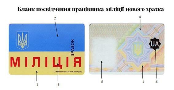 Жителям Красноармейска и Димитрова на заметку: как будут выглядеть новые удостоверения работников МВД (фото) - фото 2