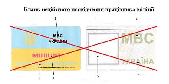 Жителям Красноармейска и Димитрова на заметку: как будут выглядеть новые удостоверения работников МВД (фото) - фото 1