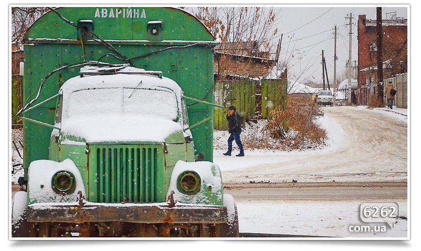 Первый снег в Славянске. Поздравляем всех! (фото) - фото 3