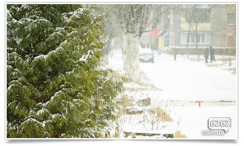 Первый снег в Славянске. Поздравляем всех! (фото) - фото 2