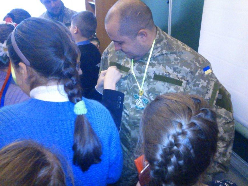 «Киборги» ВСУ встретились со школьниками города Днепродзержинск, фото-6