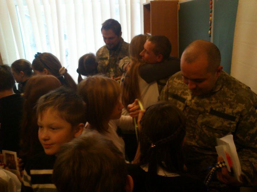 «Киборги» ВСУ встретились со школьниками города Днепродзержинск, фото-5