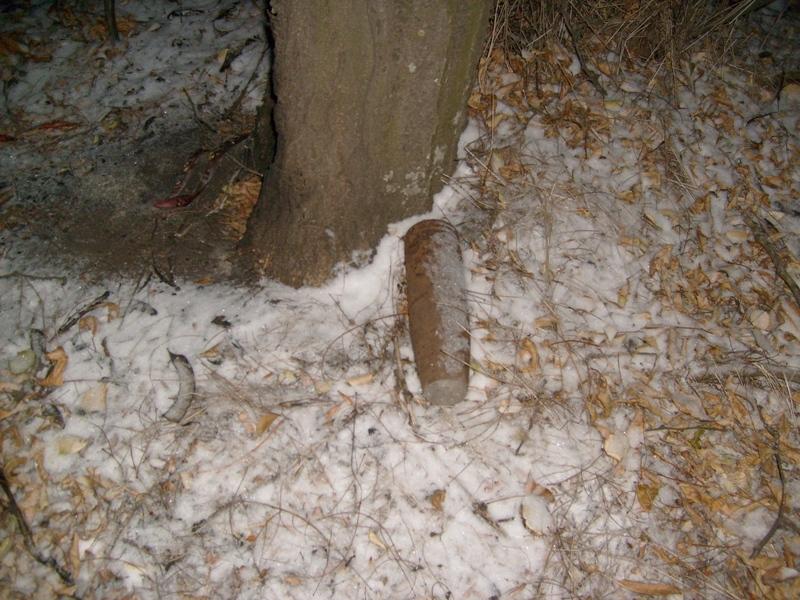 В Криворожском районе уничтожен артиллерийский снаряд калибра 76 мм времен ВОВ (фото) - фото 1