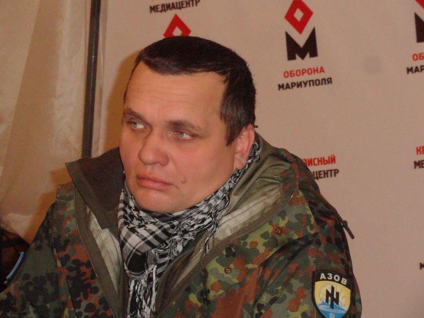 У полка «Азов»  в Мариуполе не содержаться задержанные, - «Кучерявый» (ФОТО) (фото) - фото 1