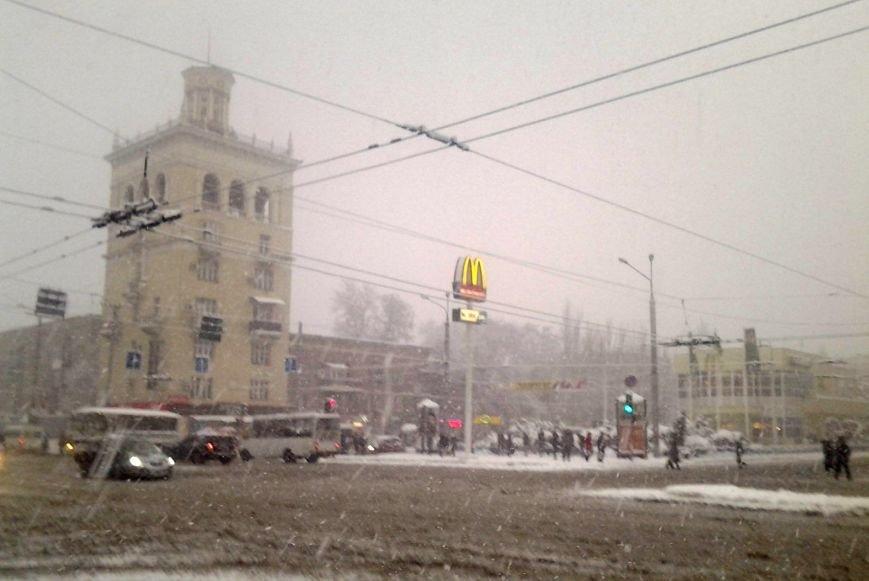 ФОТОРЕПОРТАЖ: Запорожье замело снегом, фото-35