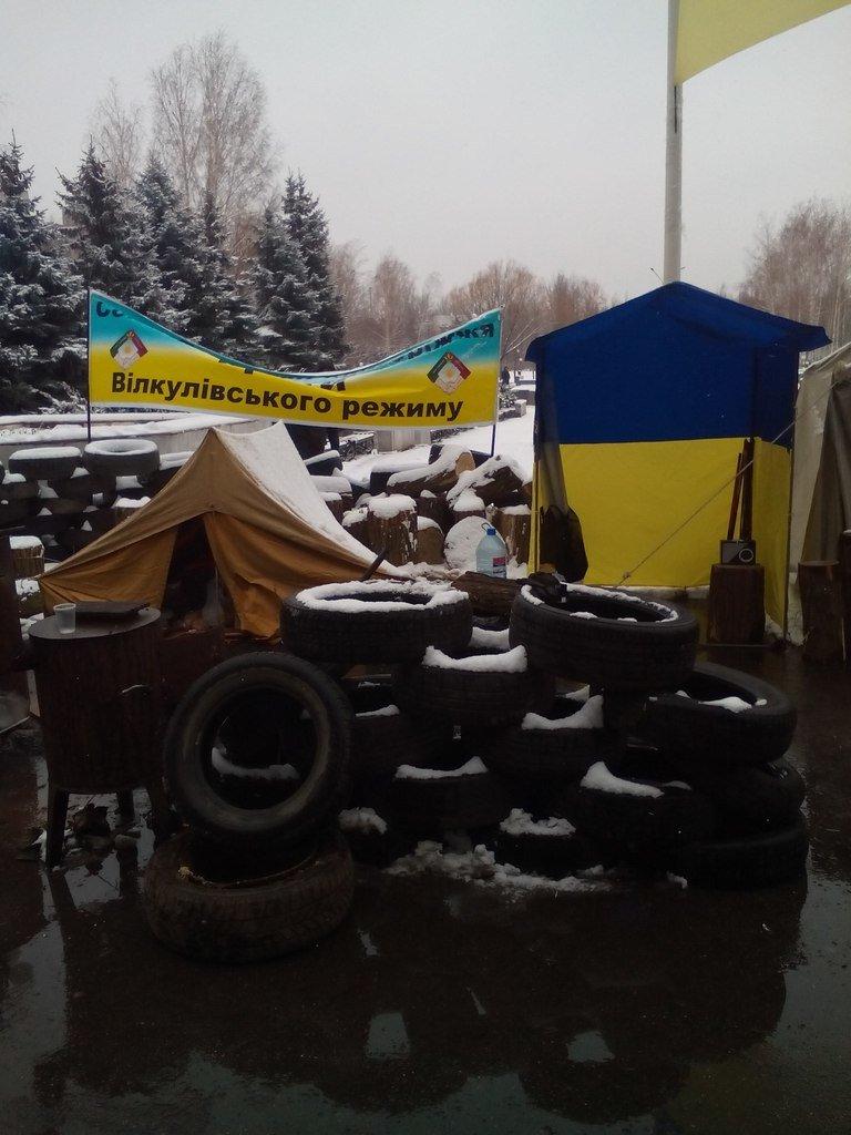 Жители Кривого Рога готовы стоять под горисполкомом, пока чиновники их не услышат (ФОТО) (фото) - фото 1