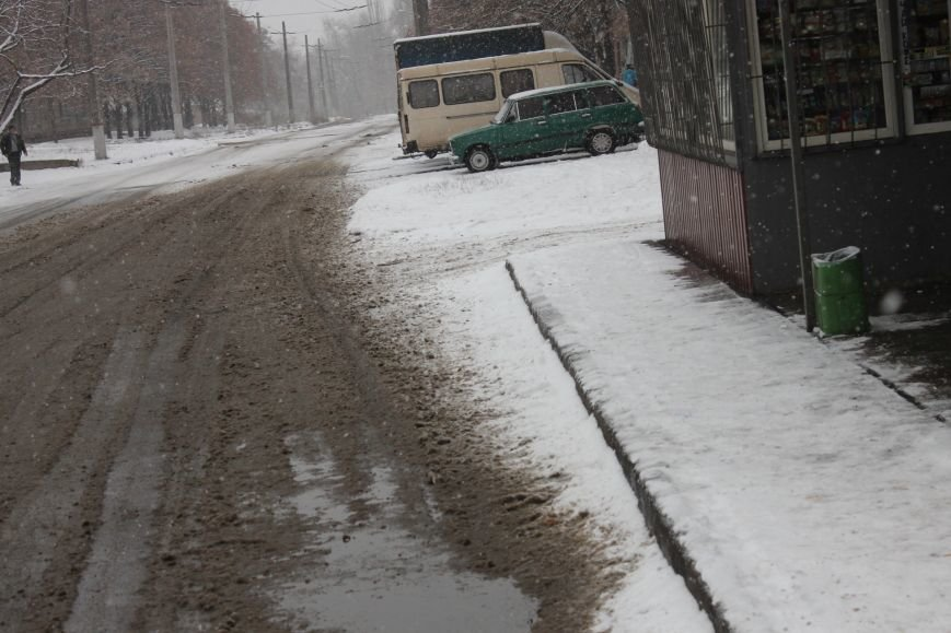 Снегоуборочная техника на дорогах Кривого Рога не замечена (ФОТОФАКТ), фото-6