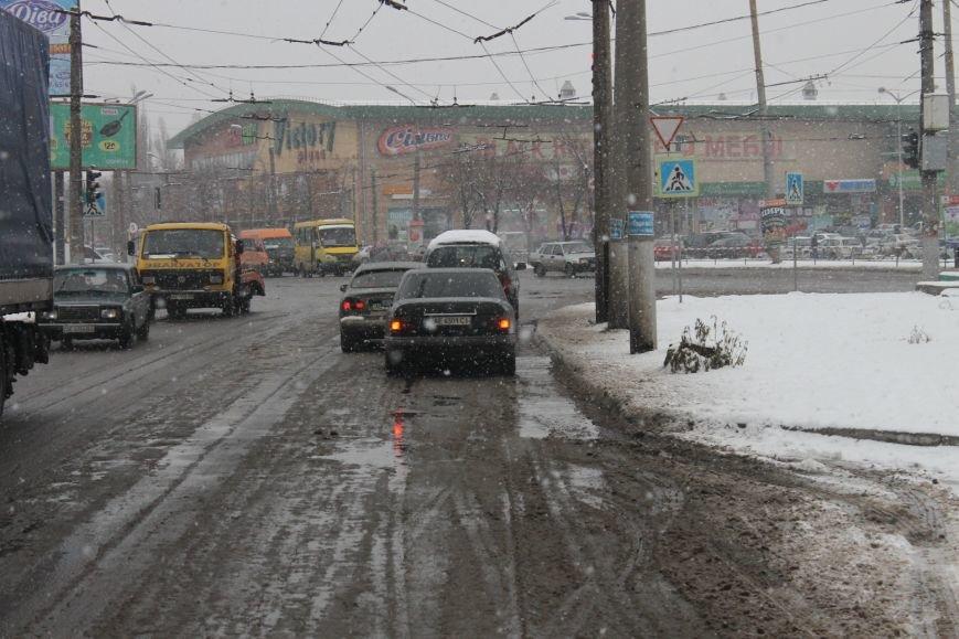 Снегоуборочная техника на дорогах Кривого Рога не замечена (ФОТОФАКТ), фото-4