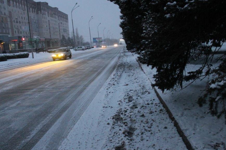 Снегоуборочная техника на дорогах Кривого Рога не замечена (ФОТОФАКТ), фото-9