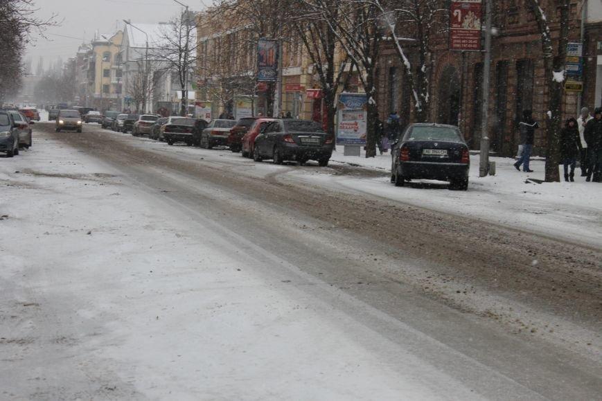 Снегоуборочная техника на дорогах Кривого Рога не замечена (ФОТОФАКТ), фото-8