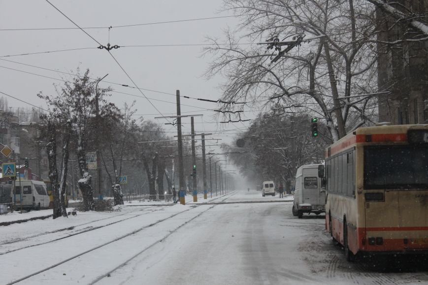 Снегоуборочная техника на дорогах Кривого Рога не замечена (ФОТОФАКТ), фото-5