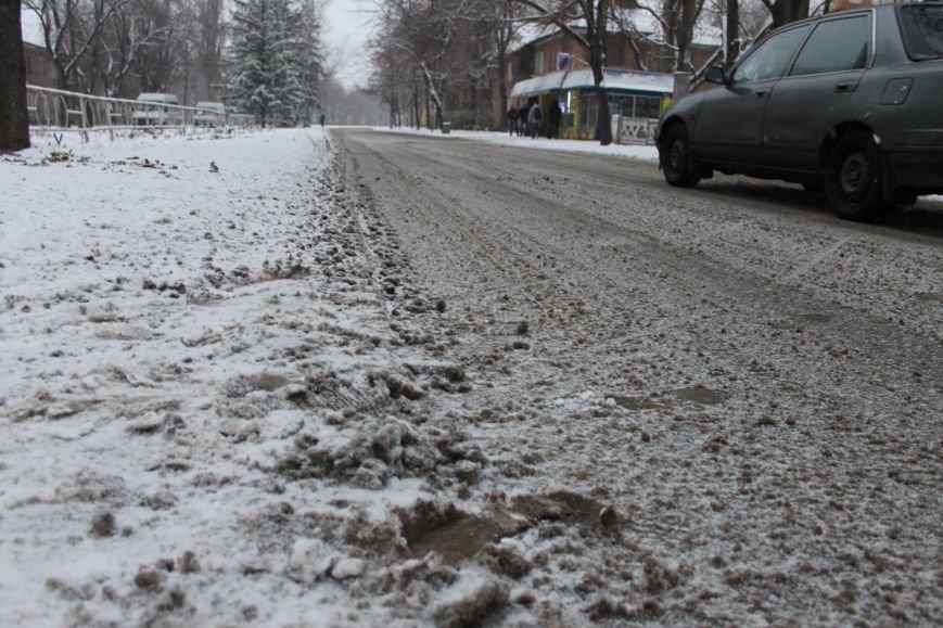 Снегоуборочная техника на дорогах Кривого Рога не замечена (ФОТОФАКТ), фото-3