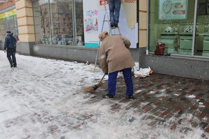 Снегоуборочная техника на дорогах Кривого Рога не замечена (ФОТОФАКТ), фото-2