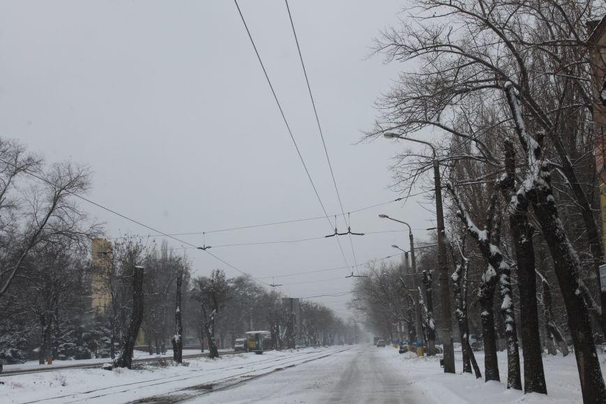 Снегоуборочная техника на дорогах Кривого Рога не замечена (ФОТОФАКТ), фото-7