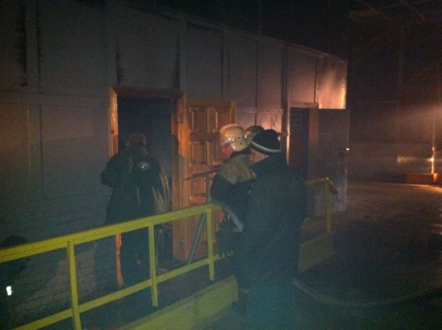 пожар краз 011