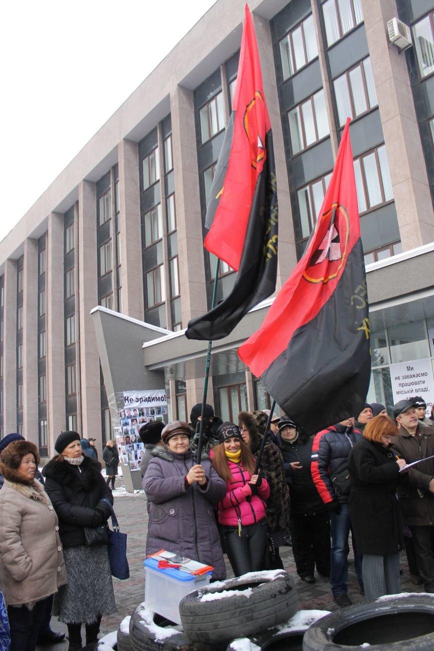 Основная цель Майдана в Кривом Роге - смена коррумпированной власти  (ФОТО), фото-12