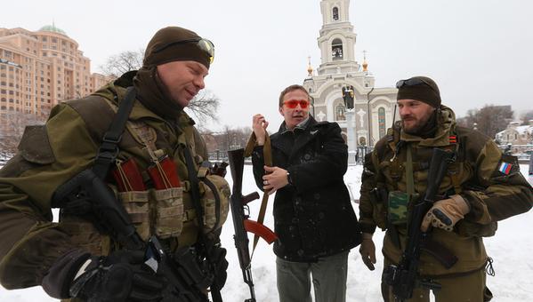 Охлобыстин в Донецке заявил, что готов воевать за «ДНР» (ФОТО, ВИДЕО), фото-2