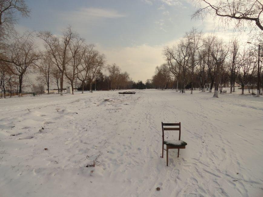 В Мариуполь пришла настоящая зима (ФОТОРЕПОРТАЖ) (фото) - фото 2