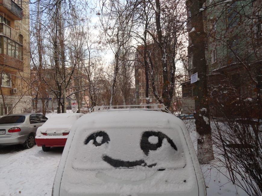 В Мариуполь пришла настоящая зима (ФОТОРЕПОРТАЖ) (фото) - фото 4