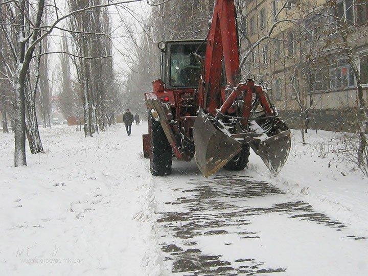 Николаевские коммунальщики привели улицы в порядок после первого снега (ФОТО) (фото) - фото 7