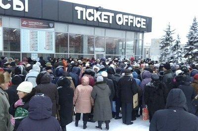 В Донецке начал работу пункт выдачи гуманитарной помощи для макеевчан (фото) - фото 1