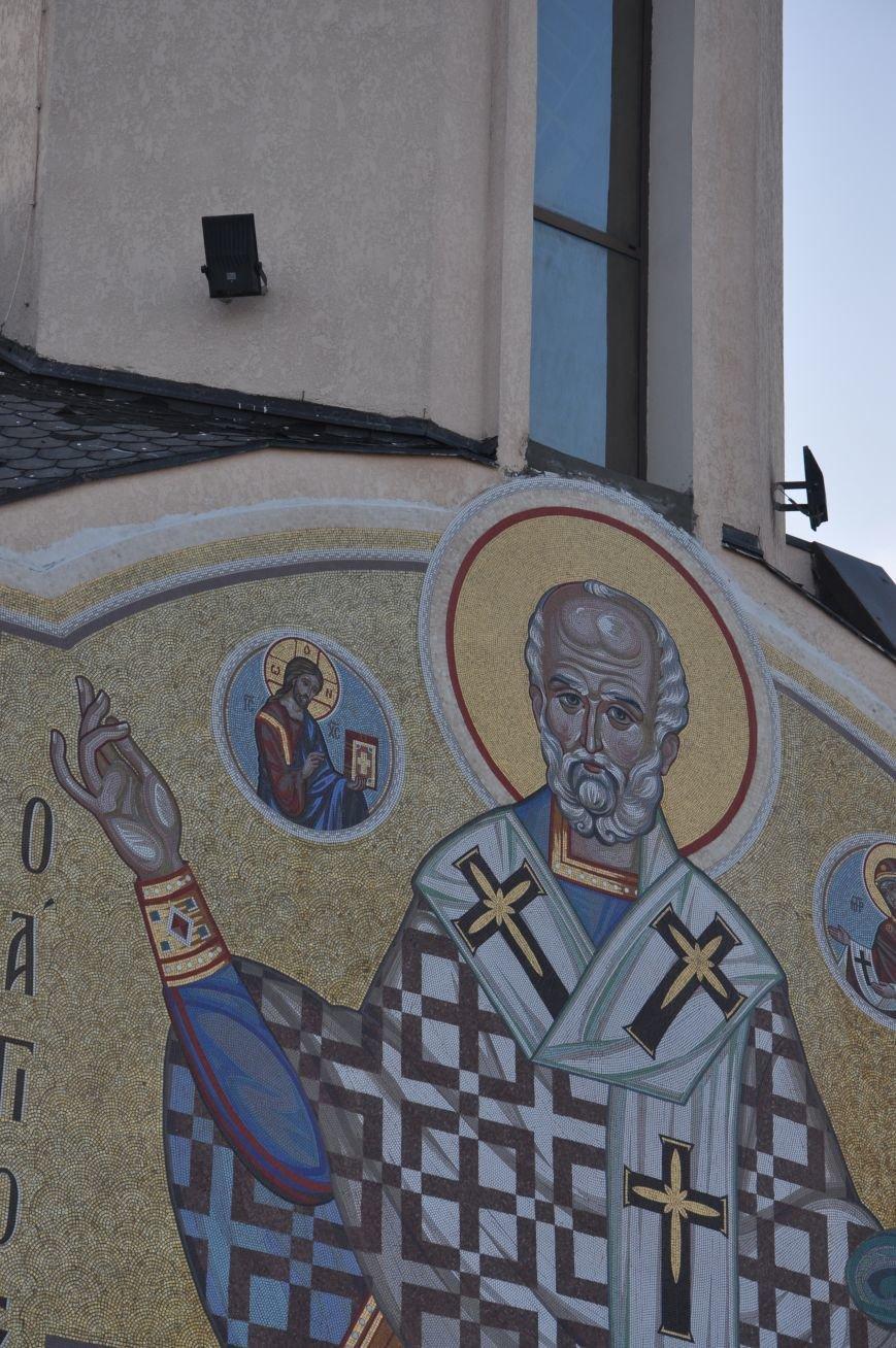 На одесском морвокзале появилась икона Николая Чудотворца, выложенная мозаикой (ФОТО) (фото) - фото 1