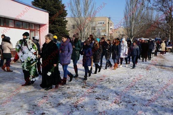 В Запорожской области похоронили бойца, погибшего во время боя под Мариуполем, фото-8