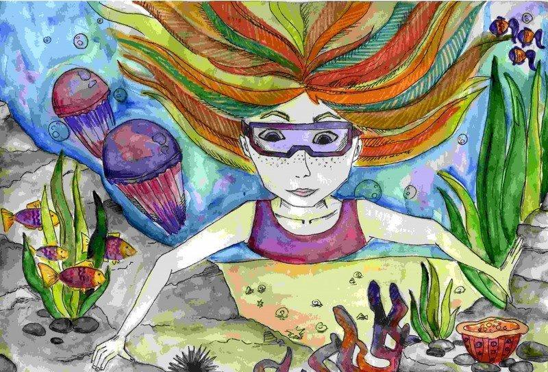Рисунок юной карельской художницы получил приз на международном конкурсе (фото) - фото 1