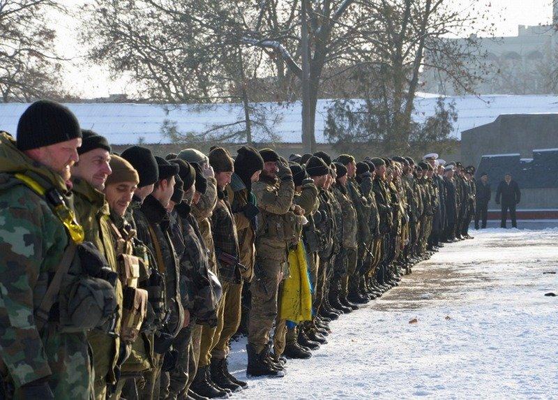 Николаевцы тепло встретили 19 тербатальон, вернувшийся из зоны АТО (ФОТО) (фото) - фото 5