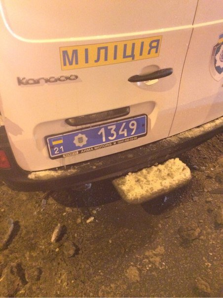 Милицейский автомобиль врезался в машину с беременной женщиной (фото+видео) (фото) - фото 2