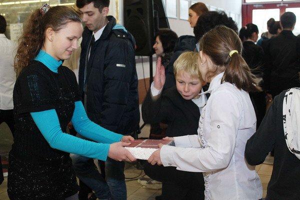 В гродненском гипермаркете прошла благотворительная акция для детей-инвалидов (Фото), фото-7